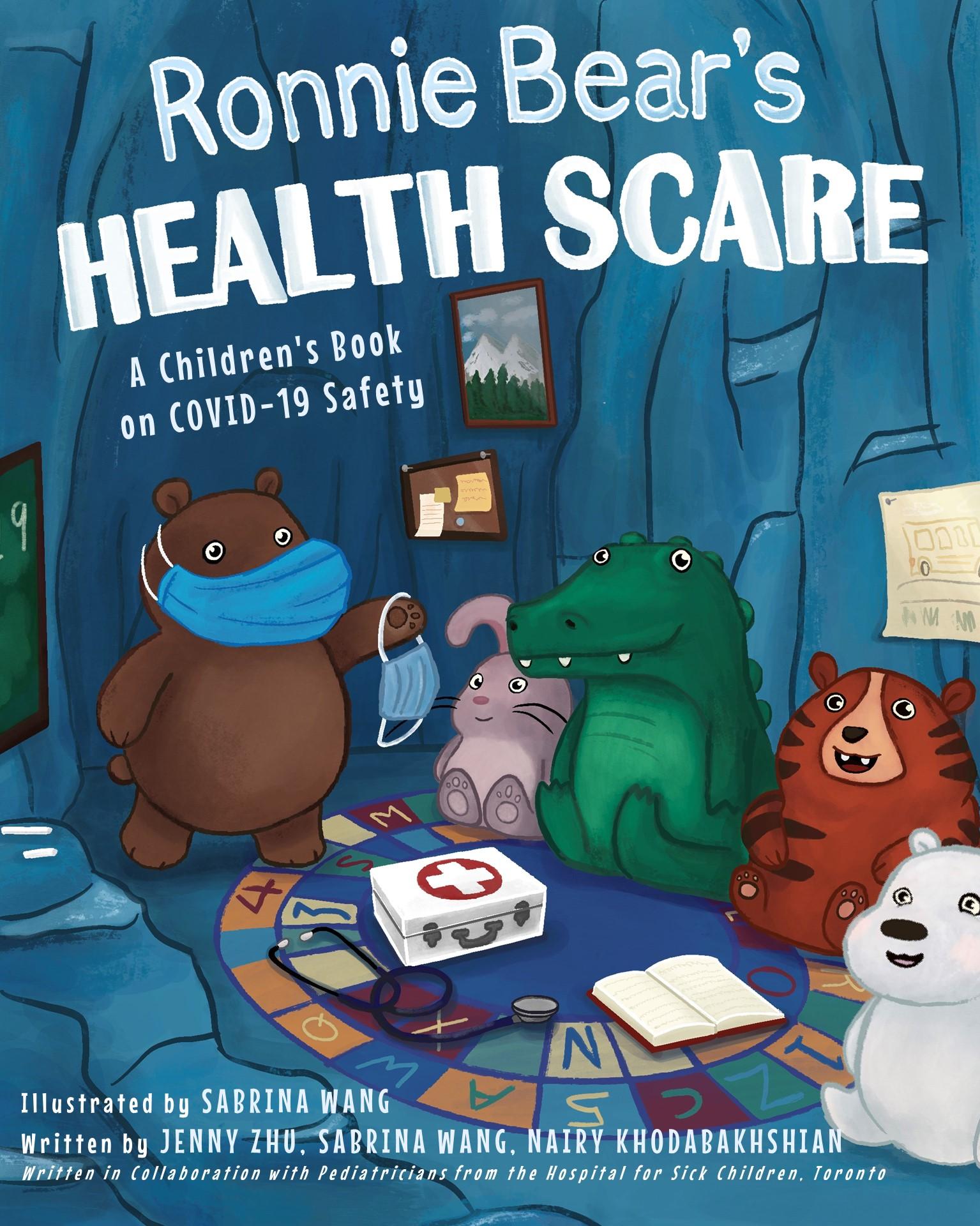 Ronnie Bear's Health Scare Book Cover